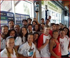 Le Rane Rosse vimercatesi vincono i campionati di Salvamento