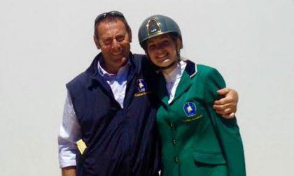 """RONCO: Sofia Maggioni stupisce al """"piazza di Siena"""" a Roma"""