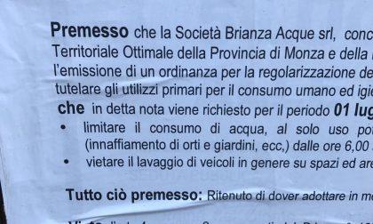 """""""Un ordinanza"""": strafalcione sui cartelli del Comune di Arcore"""