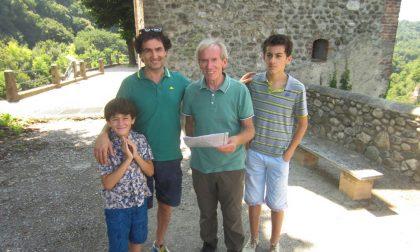 Cornate: un luminare in visita al Santuario della Rocchetta