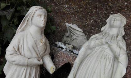 Sconvolgente atto sacrilego in oratorio a Vedano FOTO