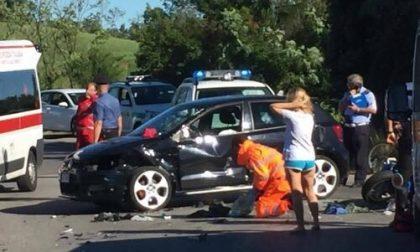 Volontario della Croce Rossa di Desio salva un motociclista – FOTO