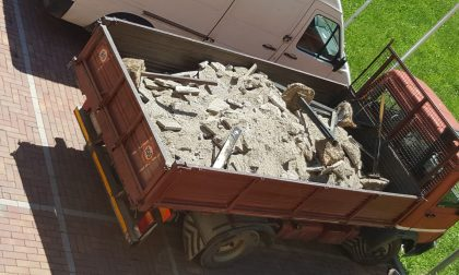Trasporto abusivo, denunciato un imprenditore edile