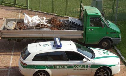 Trasporti illegali, 2 denunce a Monza