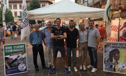 Seregno: danneggiata la sede della Lega Nord