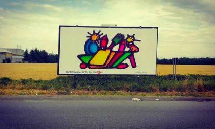 L'arte monzese occupa gli spazi pubblicitari, ecco le FOTO