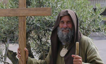 Il pellegrino Biagio Conte a Monza: allontanato dal Duomo