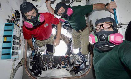Prove di emergenza nello spazio, per Paolo Nespoli