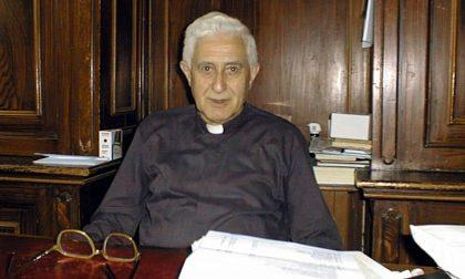 Addio a don Franco Annoni, fu coadiutore a Besana