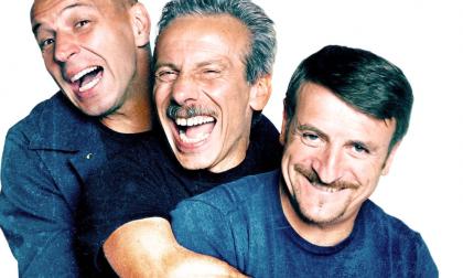 Aldo Baglio premiato insieme a Giovanni e Giacomo… poi il simpatico fuoriprogramma con Helen Mirren