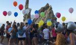 Gea Papa, gli amici liberano palloncini in cielo FOTO