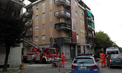 Incendio Monza: 80enne salvato in via Monte Oliveto