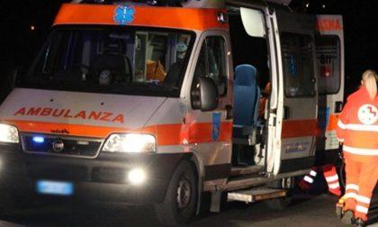 Auto contro ostacolo a Macherio, 2 feriti SIRENE DI NOTTE