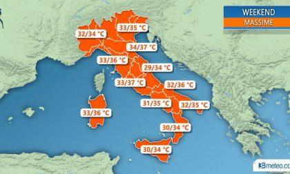 Meteo in Brianza: nuova settimana di caldo record. Niente piogge fino a settembre