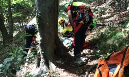 64enne di Agrate si sente male in montagna, soccorso alpino in azione