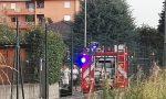 A Seregno fiamme in un garage, brucia un'auto