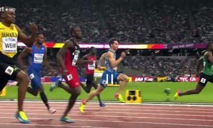 Filippo Tortu strappa la semifinale nei 200 ai Mondiali di Londra