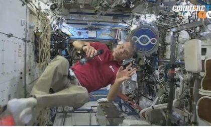 Paolo Nespoli parla dallo spazio