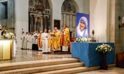 Giussano, la Basilica ha accolto le reliquie di Santa Madre Teresa di Calcutta