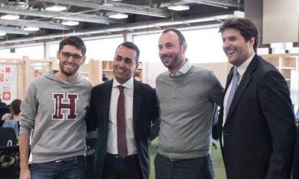 M5S: Luigi Di Maio in tour a Milano con tre giovani brianzoli