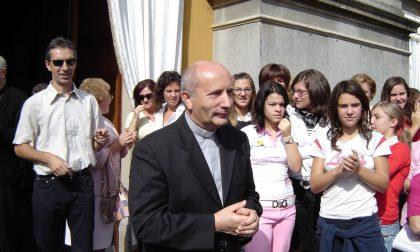 Oreno piange l'ex parroco don Luigi Brambilla