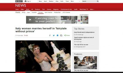 La sposa single brianzola fa incetta di click su Bbc News