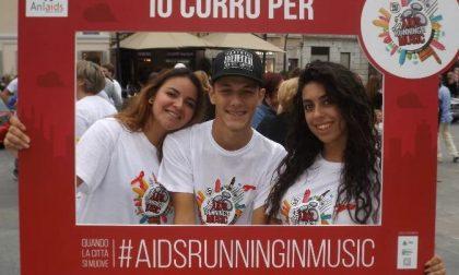 "Sabato al Parco di Monza la ""Arim-Aids Running in Music"""