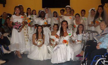 """""""Oggi sposi"""": alla  """"Fossati"""" gli abiti nuziali delle nonne"""
