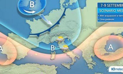 Clima in mutamento, da giovedì nuovi temporali in arrivo