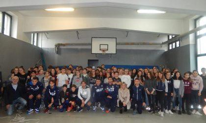 Meda, la nazionale under 20 incontra gli alunni della Traversi e della Frank