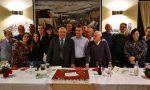 In pensione dopo anni nella Polizia locale festa a Giussano