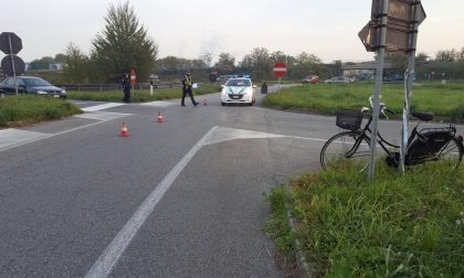 Ciclista investito a Villasanta VIDEO