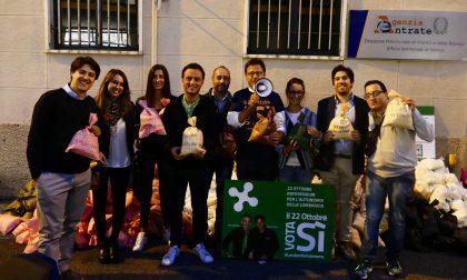 Lega Nord, Ciocca davanti all'Agenzia delle Entrate – VIDEO