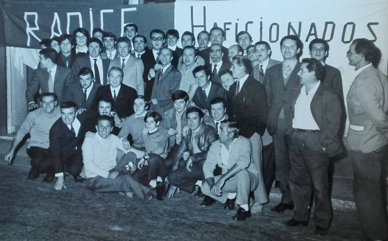 Monza Calcio, spunta una foto d'epoca dei tifosi