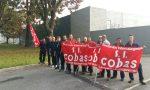 Tensione alla protesta degli autisti Cobas