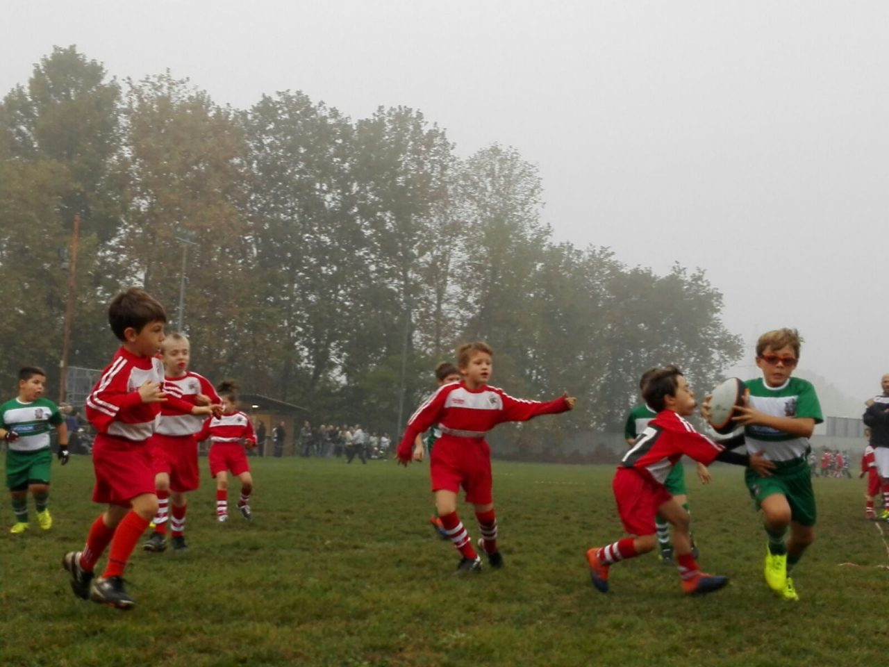 """Rugby Monza, i """"minibagai"""" in campo"""