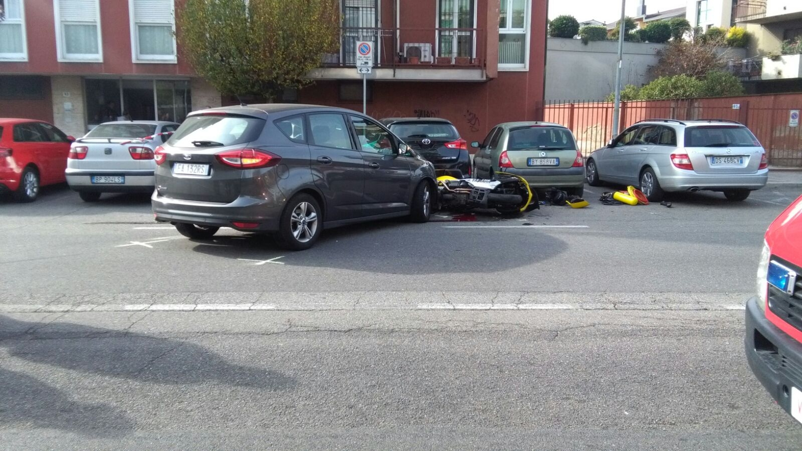 Incidente mortale a Lissone in via Matteotti