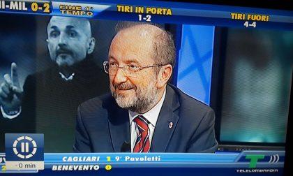 Enrico Brambilla in tv porta bene al Milan