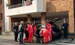Violento scontro tra auto a Cesano Maderno