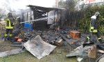 A Desio brucia baracca in legno, salve le capre (VIDEO)