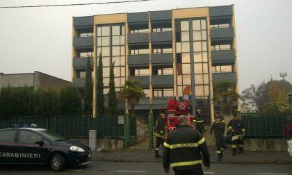 Incendio a Muggiò: in fiamme l'Hotel Imperial