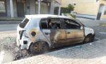 Auto bruciate nella notte di Halloween