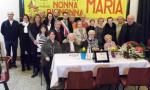 Robbiano saluta centenaria