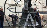 Bernareggio: smontate le campane della chiesa VIDEO