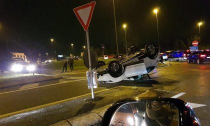 Usmate: incidente all'incrocio fra via Gilera e Corso Italia