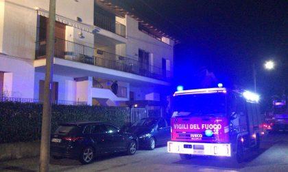 Sovico: principio di incendio in una palazzina di via Galvani VIDEO