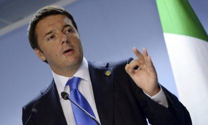 Matteo Renzi arriva a Lissone
