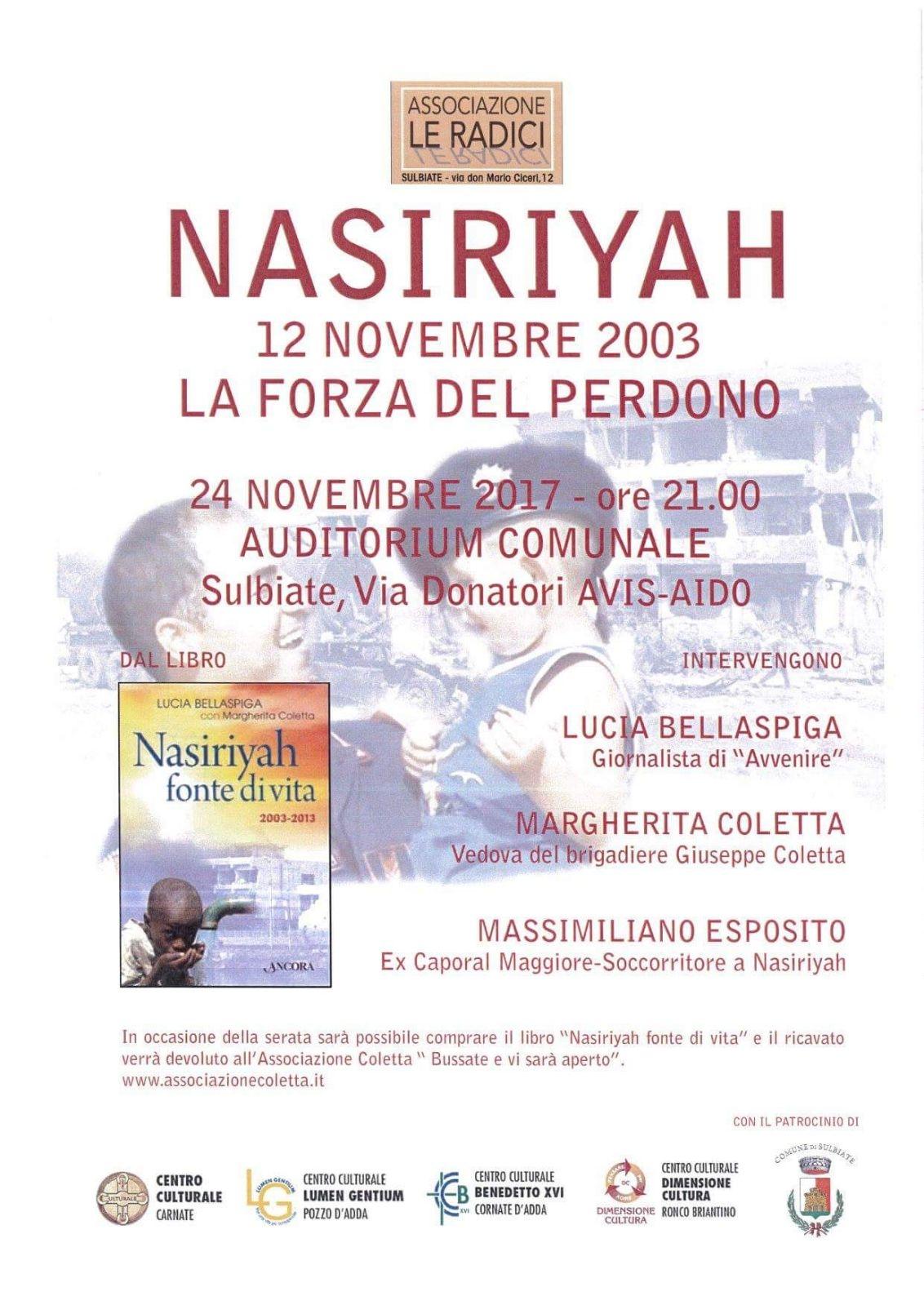In ricordo del dramma di Nasiriyah