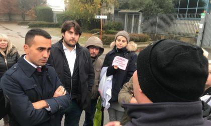 Licenziamenti Canali a sorpresa Luigi Di Maio a Carate L'INTERVISTA