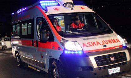 Incidente in Milano Meda, in due in ospedale SIRENE DI NOTTE